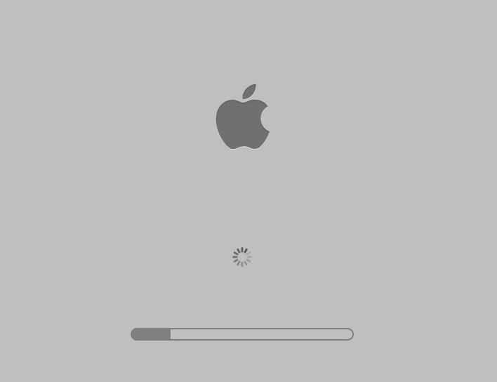 mac går i stå ved opstart