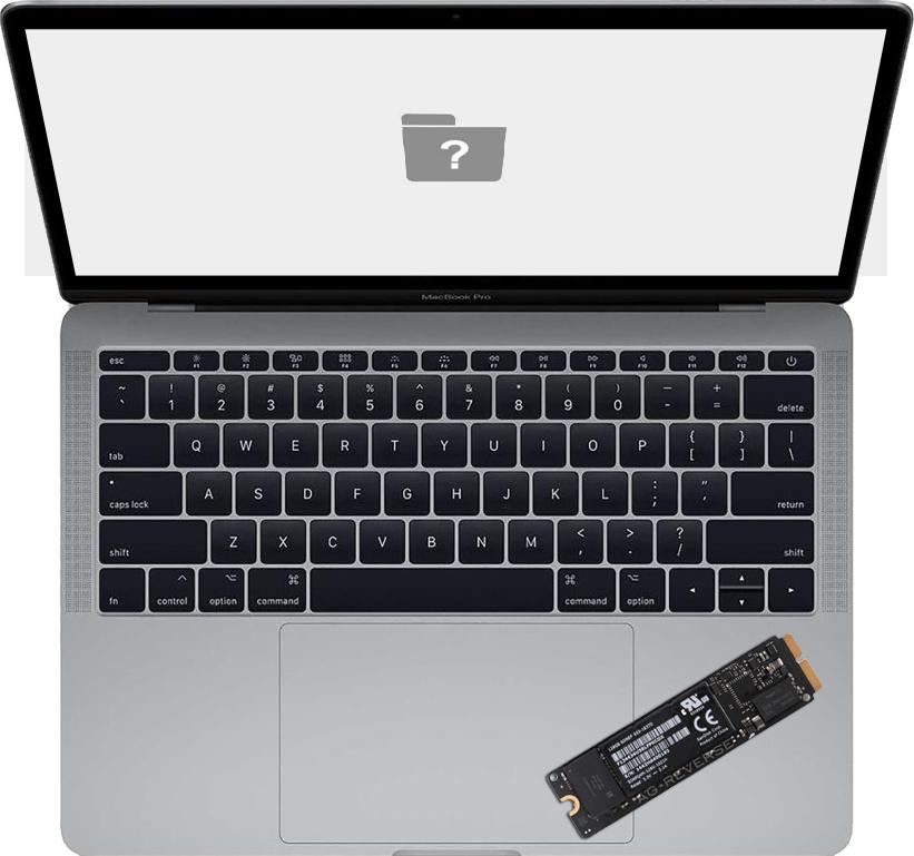 Udskiftning af harddisk i MacBook