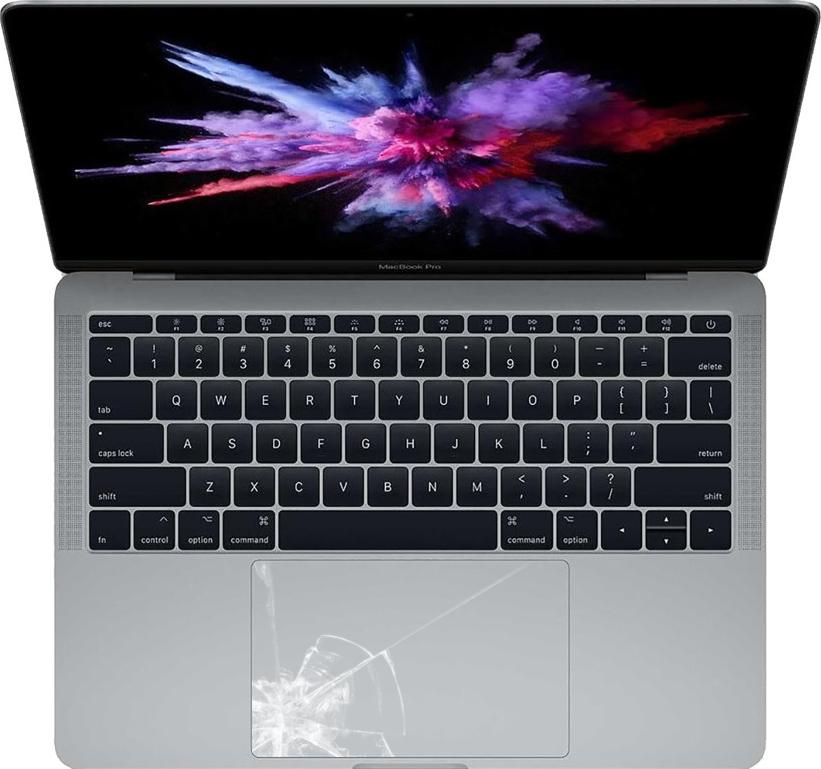 Udskiftning af trackpad på MacBook